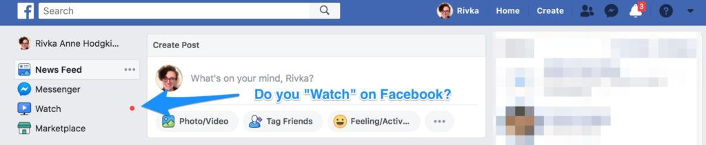Do you watch on Facebook?