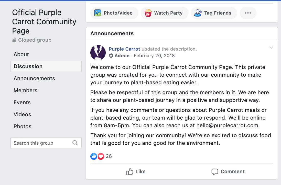 facebook group administration