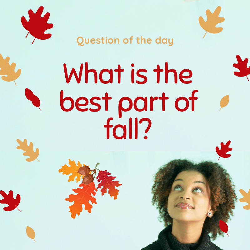 fall content calendar