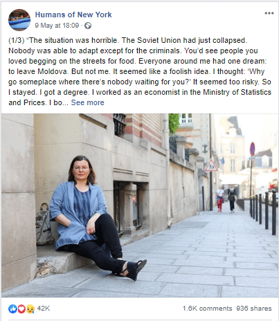 humans of new york storytelling via social media