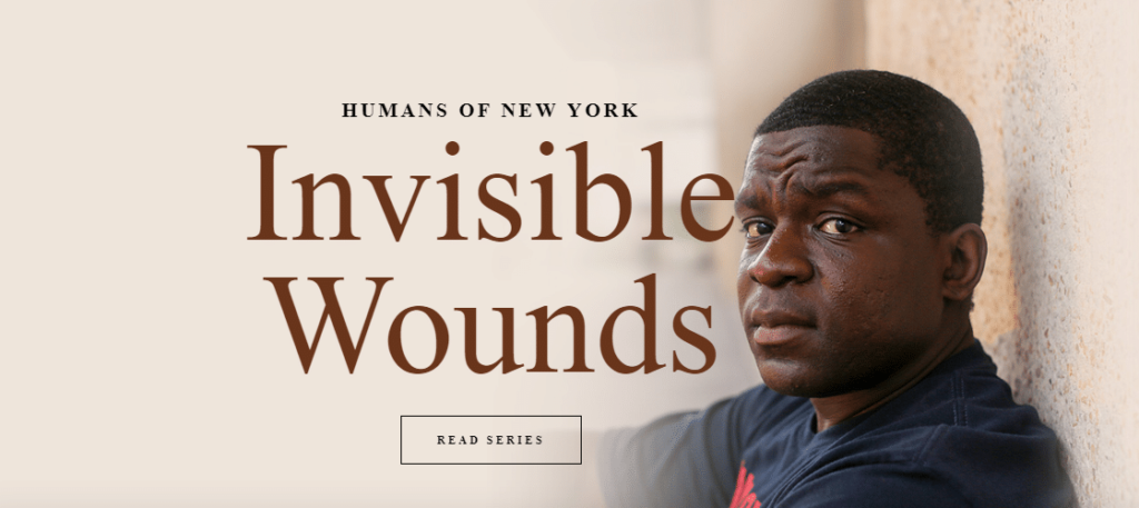 humans of new york invisible wounds storytelling via social media