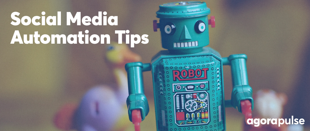 header image for social media automation tips for agencies article