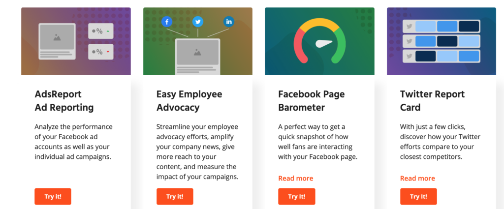 free tools for social media managers and agencies