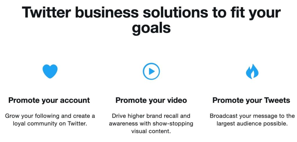 setting your Twitter advertising goals