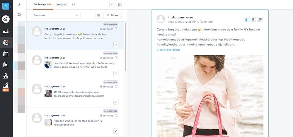 top Instagram marketing tools - Agorapulse