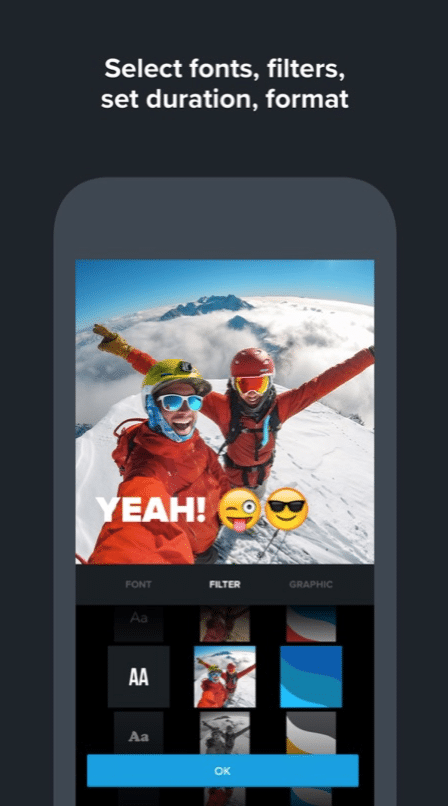 quik by gopro mobile apps for social media