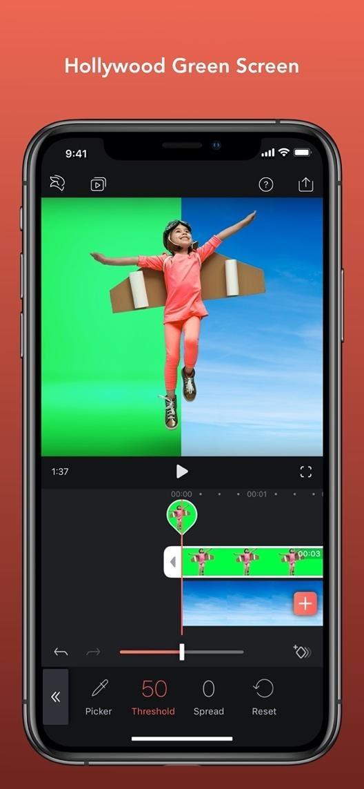 videoleap mobile apps for social media content