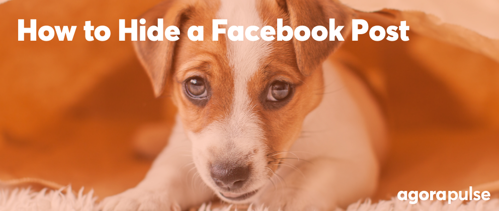 how to hide a facebook post