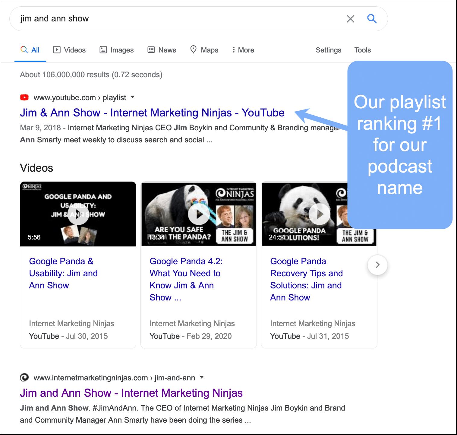 Playlist ranking