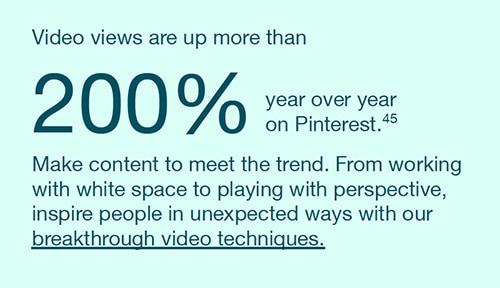 highlights from new Pinterest report - 5