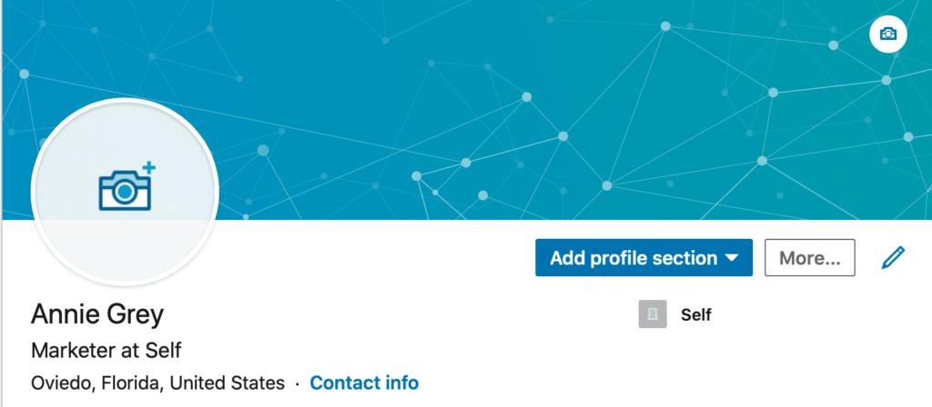 needs a linkedin profile pic