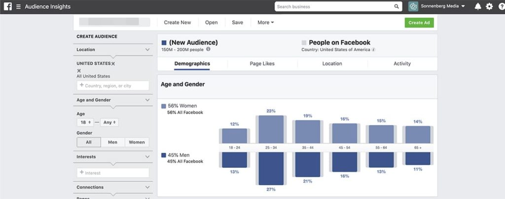 how to create a social media campaign - audience research