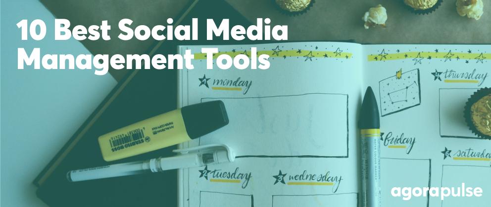 best social media management tools header image