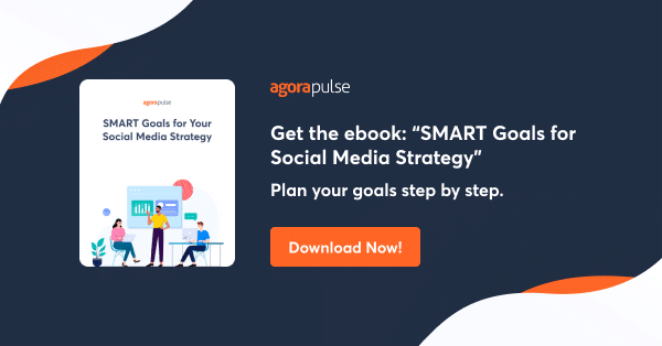 get the free ebook smart goals for social media strategy
