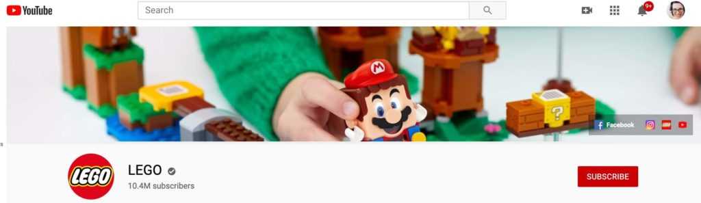 youtube channel header image