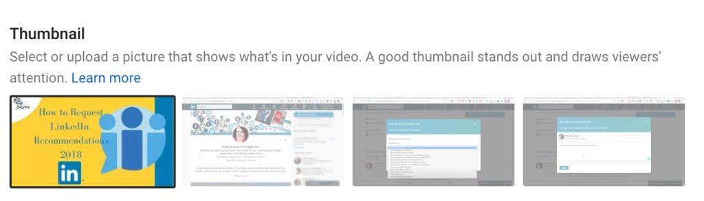 thumbnail sizes for youtube