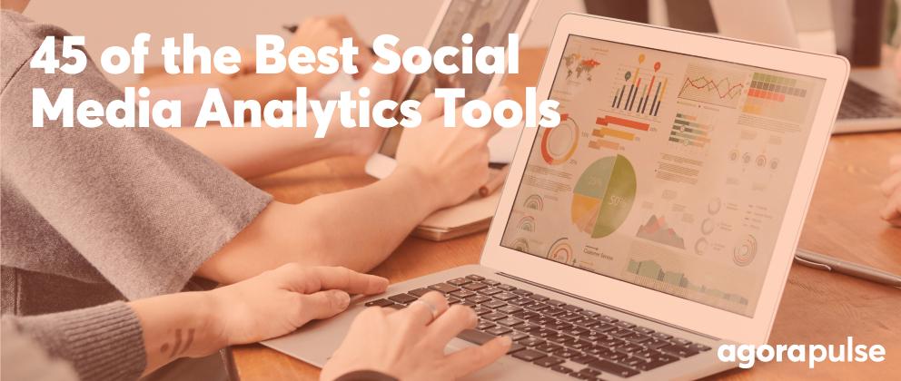 header image for best social media analytics tools