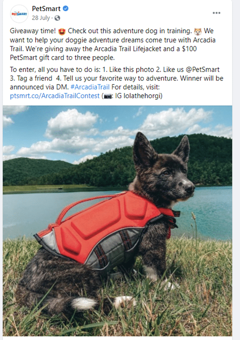 user-generated content from petsmart