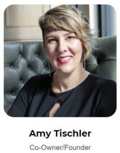 amy tischler, co-owner of simply social media