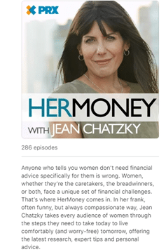 her money example of how to create a podcast