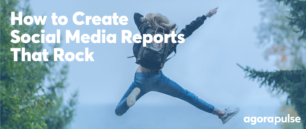 how to create social media reports header image