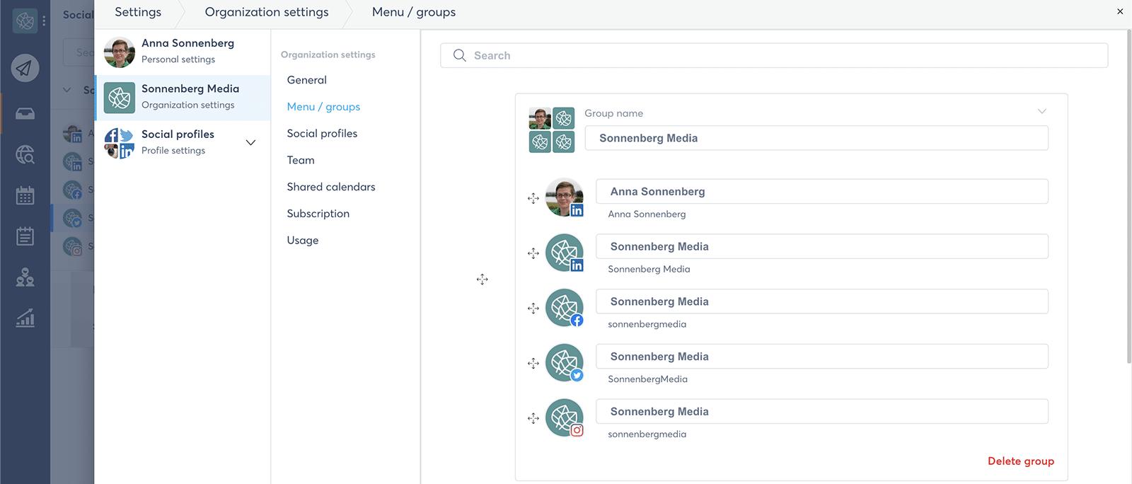 Agorapulse agency dashboard - how to manage multiple social media accounts