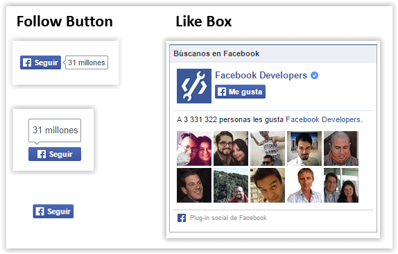 to get like in facebook - like box