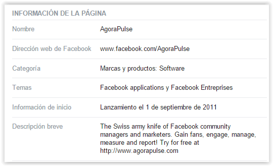 to get like in facebook - page information