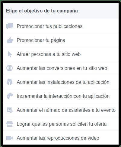 facebook-ads-objetivos-campaña