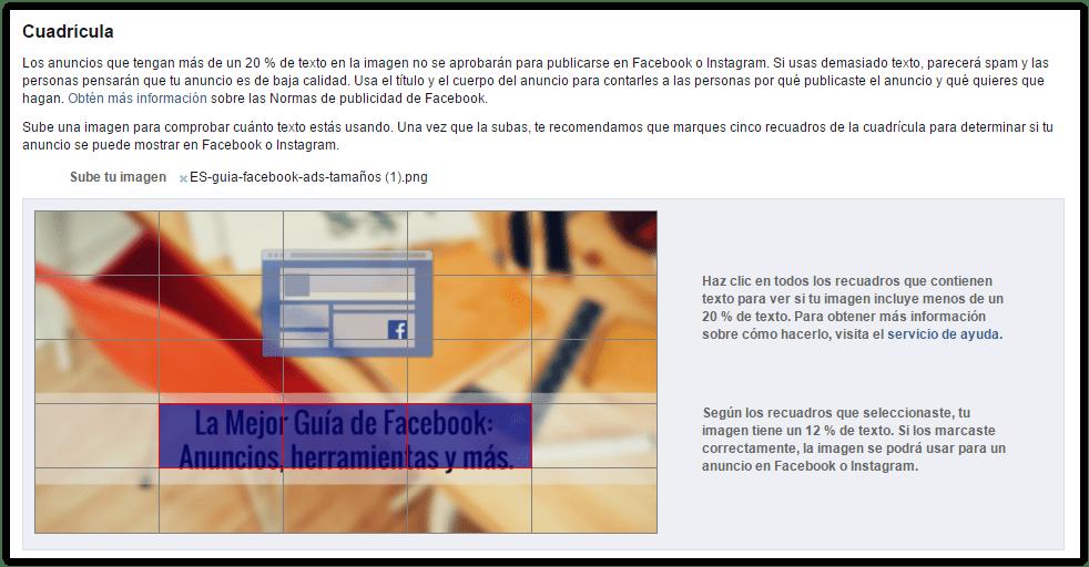 cuadricula-facebook-ads-regla-texto