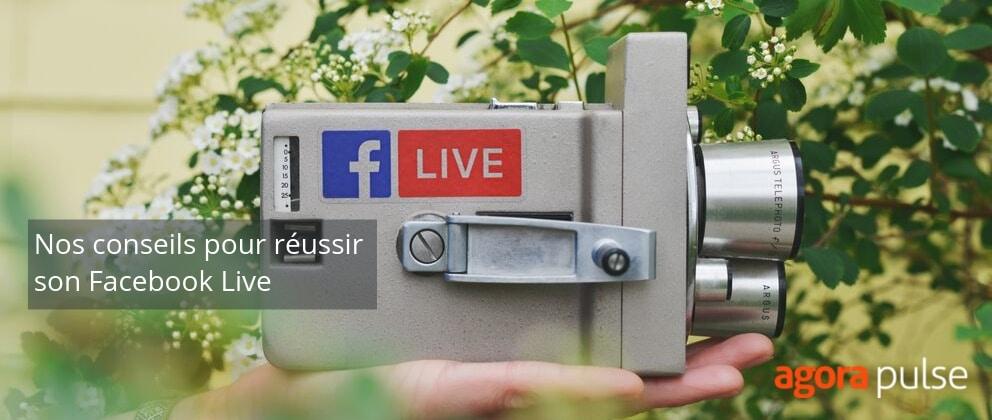 conseils facebook live