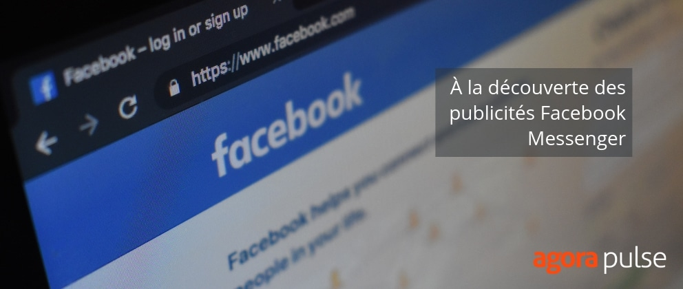 publicités messenger facebook