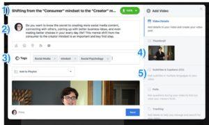 Etape 3 pour ajouter des sous-titres aux vidéos Facebook