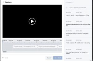 Etape 6 pour ajouter des sous-titres aux vidéos Facebook