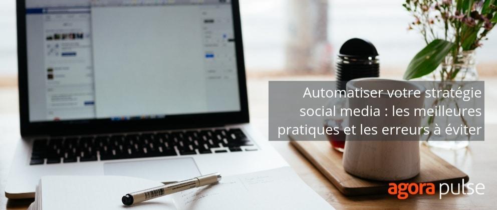 automatisation réseaux sociaux