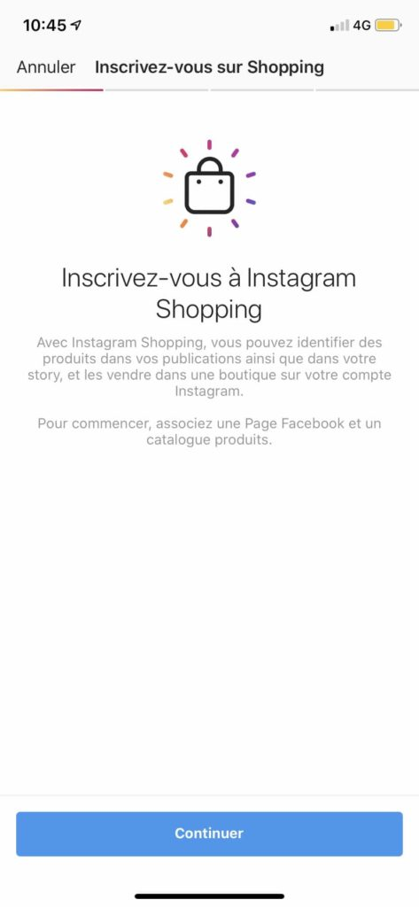 Comment vendre via Instagram Shopping ?