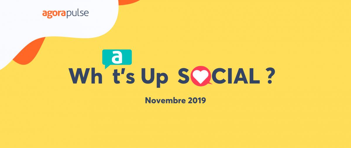 news social media novembre