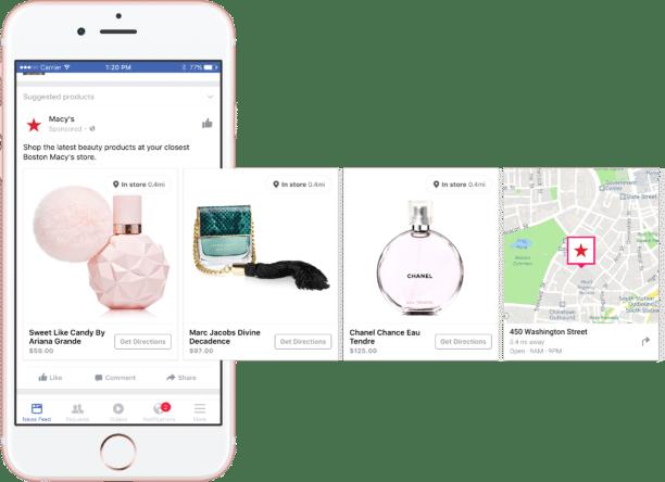 Marketing Facebook : un exemple de publicité Facebook