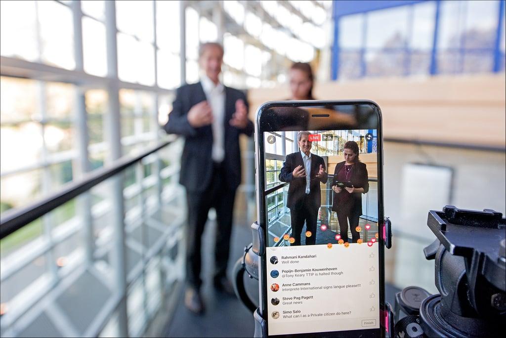 Marketing Facebook : un exemple de Facebook Live