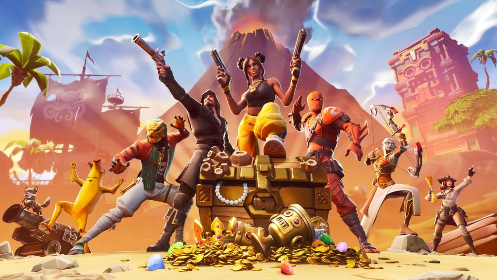 image illustrant le jeu Fortnite