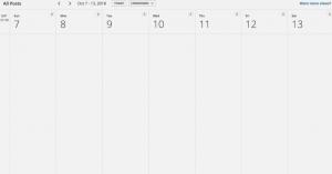 calendrier hootsuite