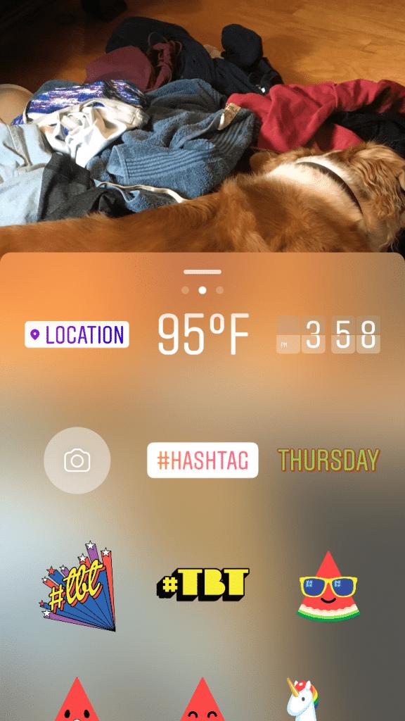 sticker instagram
