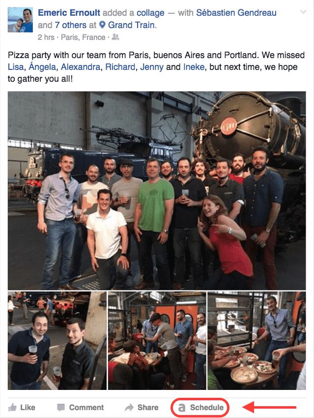 Agorapulse Team published on Facebook
