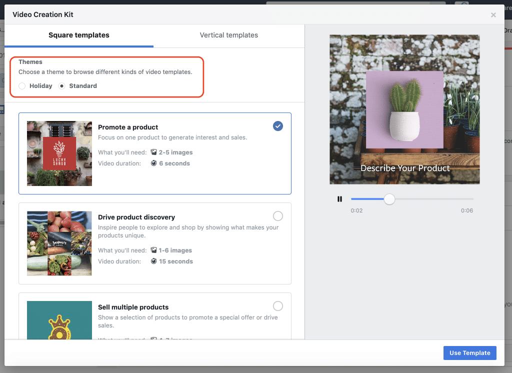 Facebook Creation Kit Theme