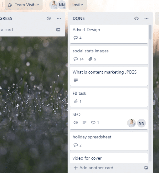 trello helps when you work from home