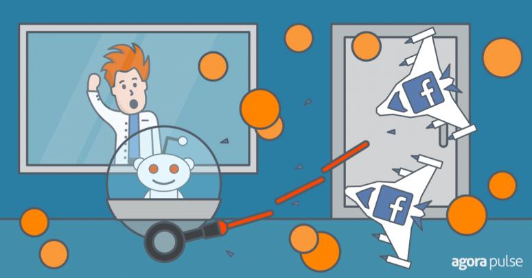 Reddit ads vs Facebook ads test.