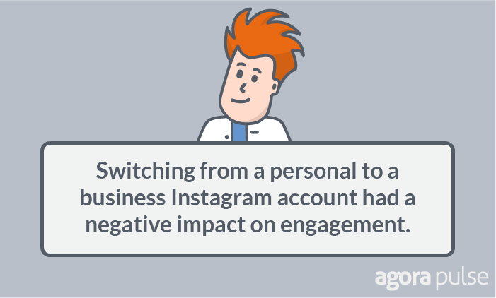switching to an instagram business account