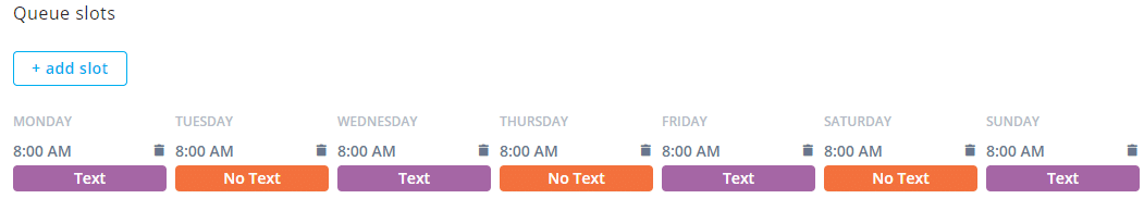 Agorapulse category schedule
