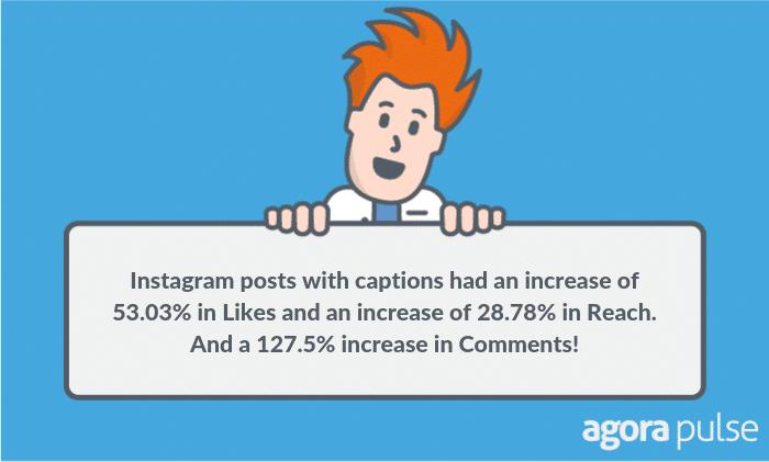 instagram captions test