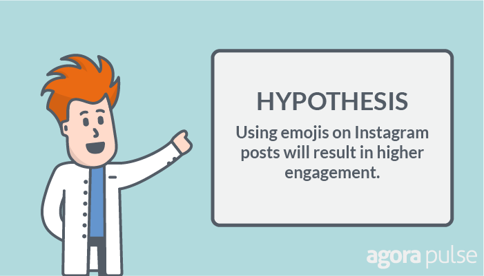 emojis on instagram hypothesis